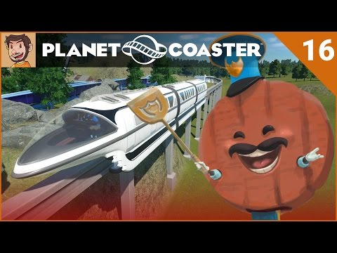 Let's Play Planet Coaster - Hard Mode - Part 16