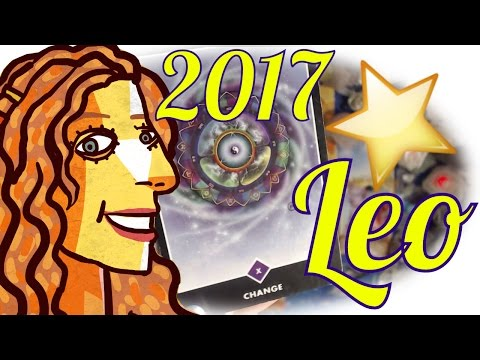 Leo  Year Preview 2017 Tarot Card Reading Astrology Prediction Crystals Oracles Roosh Runes Forecast