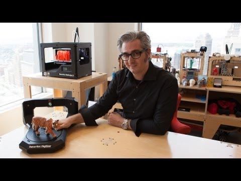 0 - MakerBot Digitizer Desktop 3D-Scanner - Update: Video
