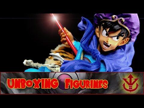 Unboxing : BWFC Goku Roi Singe