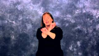 When I Think About the Lord in ASL & CC by Rock Church Deaf Ministry