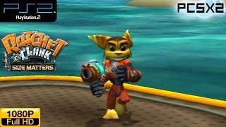 Ratchet & Clank: Size Matters - PS2 Gameplay 1080p (PCSX2)