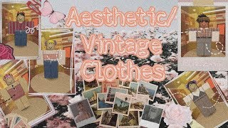 ROBLOX | Aesthetic/ vintage clothes