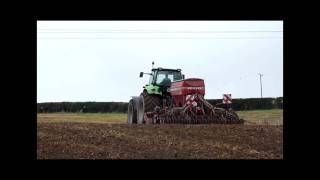 Deutz Fahr X720 and Horsch Drill