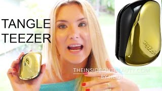 TANGLE TEEZER FIRST IMPRESSIONS REVIEW DOES IT WORK???   TheInsideOutBeauty.com by Heidi