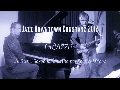 FunJAZZtic Duo  Live -  Jazz Downtown Konstanz - Behind the Clouds