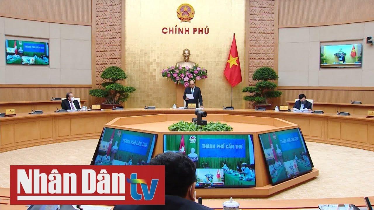 Thủ tướng chủ trì Hội nghị trực tuyến Chính phủ với địa phương