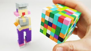 Magnetic Colorful Cubes | Magnetic Games