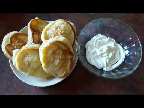 Оладушки на йогурте Оладьи на йогурте несладкие