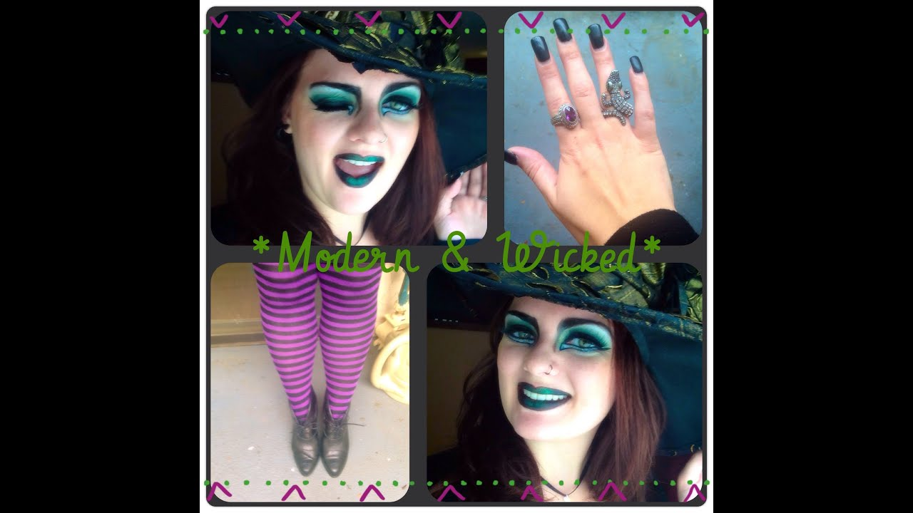 DIY Witch Costume - YouTube