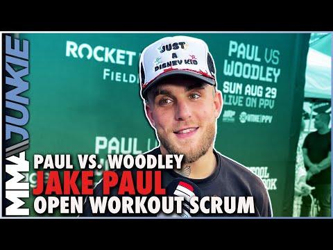 Jake Paul rips 'hoe' Jorge Masvidal, threatens Dana White | Paul vs  Woodley