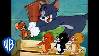 Tom And Jerry | Friends or Enemies? | Classic Cartoon Compilation | WB Kids