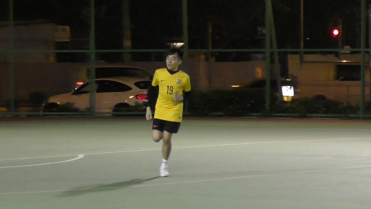 2020/01/22 駿昇乙二 TP7(藍) vs 撩私神FC(黃) 上半場 - YouTube
