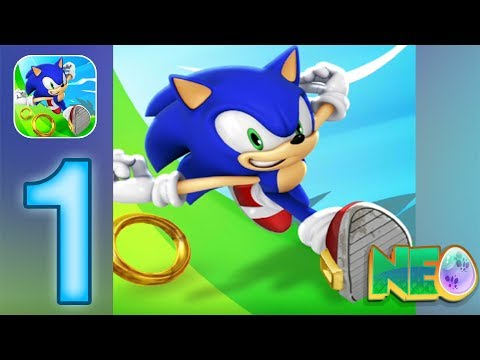 Sonic Dash: Gameplay Walkthrough Part 1 - Let The Adventure Begin! (iOS, Android)