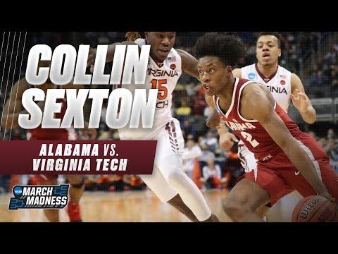 Collin Sexton drops 25 points in Alabama's win over Virginia Tech