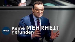WELT DOKUMENT: Spahn enttäuscht - Bundestag lehnt Widerspruchslösung für Organspenden ab