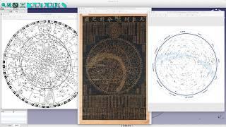 천문도의 이해 와 활용 - 3D CAD를 사용한 천체구…