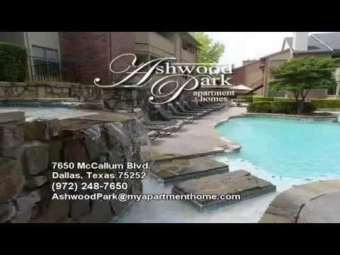 Ashwood Park Apartment Homes For Rent In Dallas, Texas! 972 248 7650