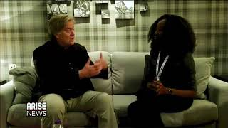 Former White House Chief Strategist Steve Bannon says-Africa, be wary of China, its Neocolonialism.