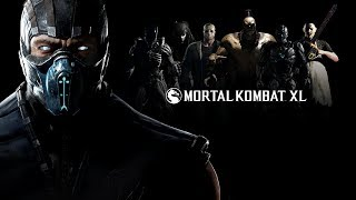 Mortal Kombat XL. Учусь играть. Playstation 4 Gameplay #1.