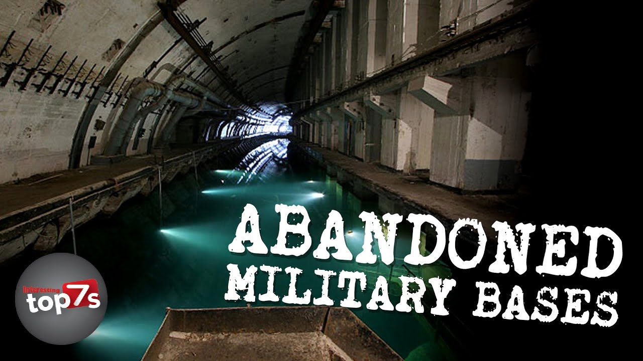 Top 7 Abandoned Military Bases YouTube - Map Of Us Decommisioned Army Bases