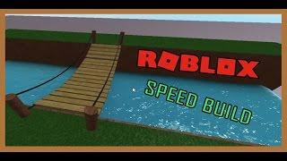 ROBLOX Speed Build - Seilbrücke