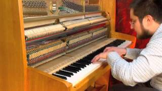 J. S. Bach Prelude from English Suite 2 in A Minor BWV 807 Suita angielska a moll nr 2