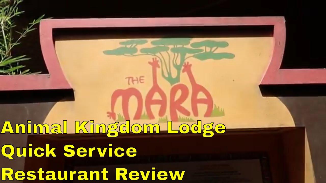 Animal Kingdom Lodge Quick Service Restaurant Review The Mara