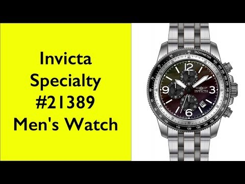 Review Invicta Specialty 21389 mens watch
