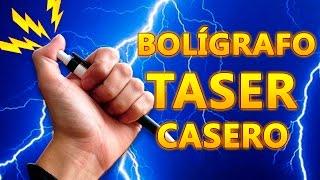 Como Hacer un Bolígrafo Taser Casero (electric shock pen)