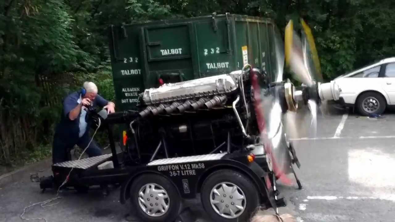 Rolls-Royce 37L V12 Griffon Engine