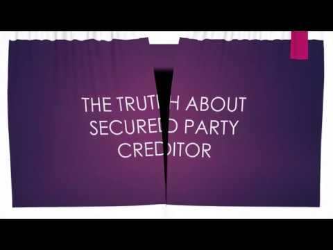 PROPERLY ACCESSING YOUR TRUSTS THE TRUTH ABOUT BECOMING SECURED PARTY CREDITOR Private Banker
