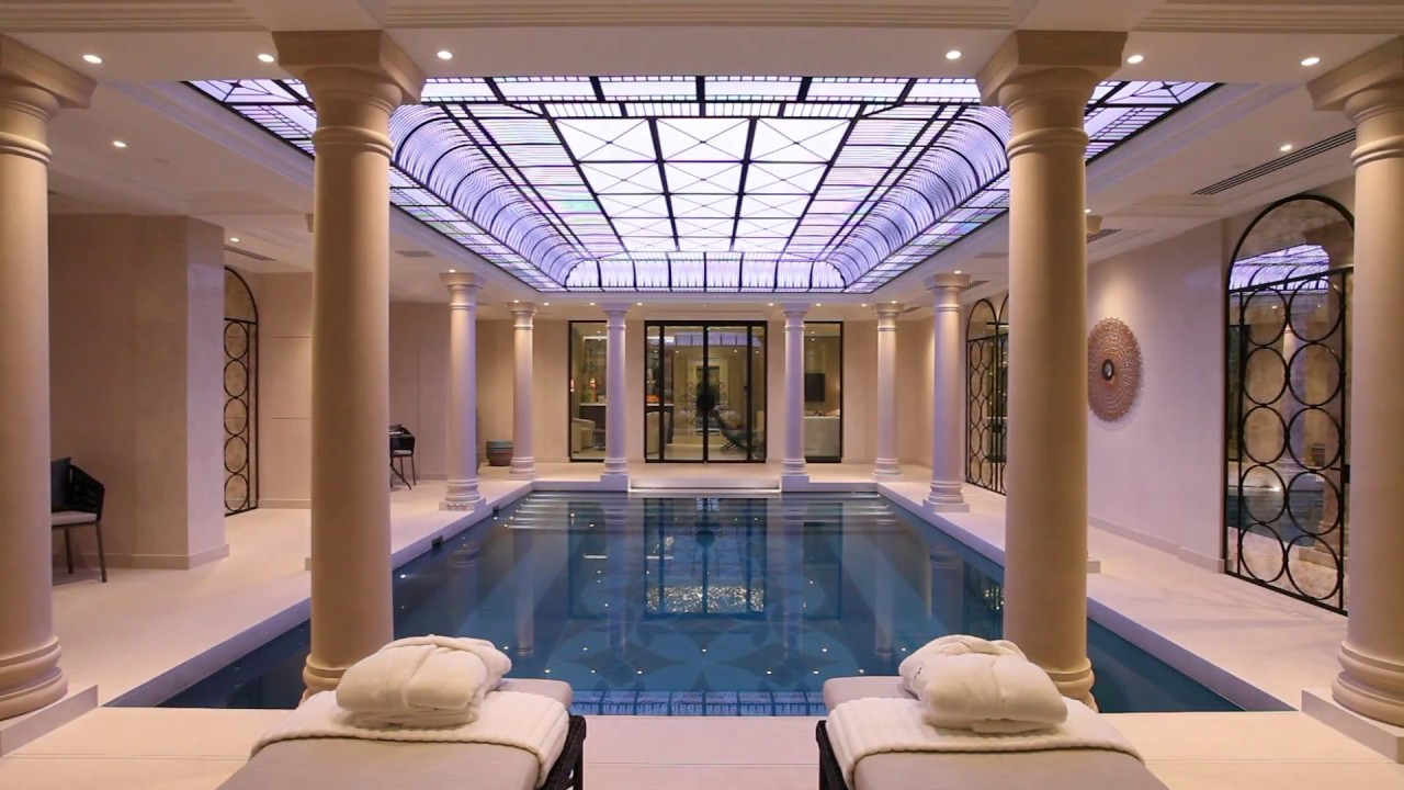 Belgravia residence basement swimming pool teaser youtube - Houses with swimming pools in london ...