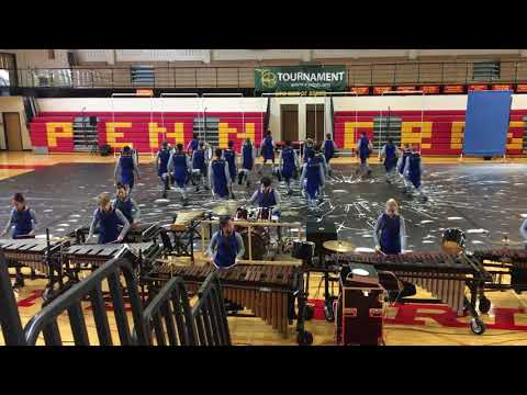 Cab Calloway Indoor Drumline Penncrest 02-10-18  TIA