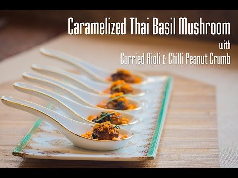 caramelized-thai-basil-mushroom-|-appetizer-|-fine-food
