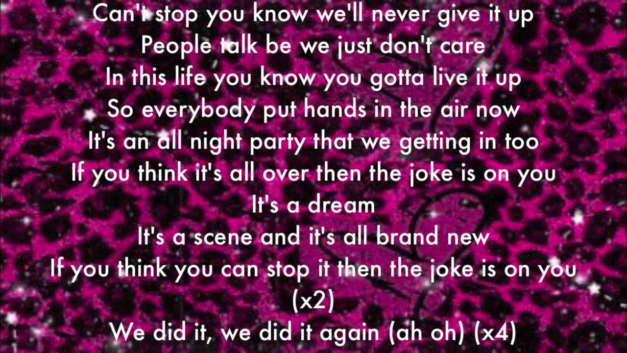 the joke is on you icarly song lyrics youtube