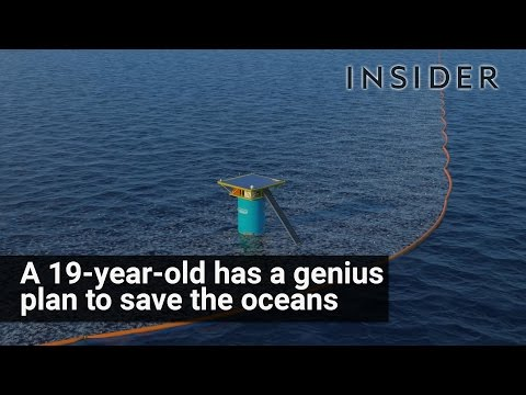19-year-old figures out how to save our oceans