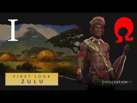 Omega Alden Plays Civilization 6 Rise And Fall - Zulu - Part 1
