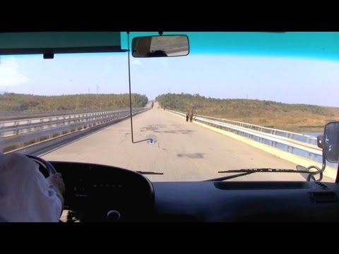 One Minute on the Roads of North Korea: Kaesong