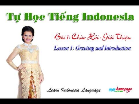 Giáo Trình Complete Indonesian bài 1