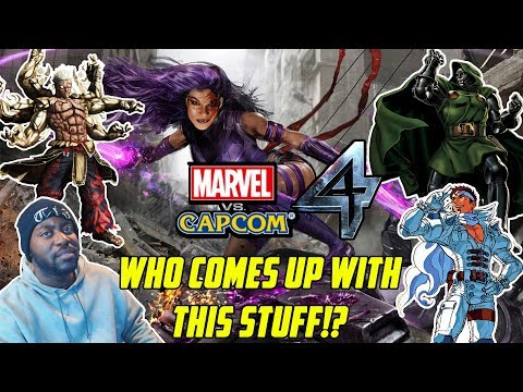 WHO COMES UP WITH THIS STUFF!? Reading Another Marvel Vs Capcom 4 Leak List