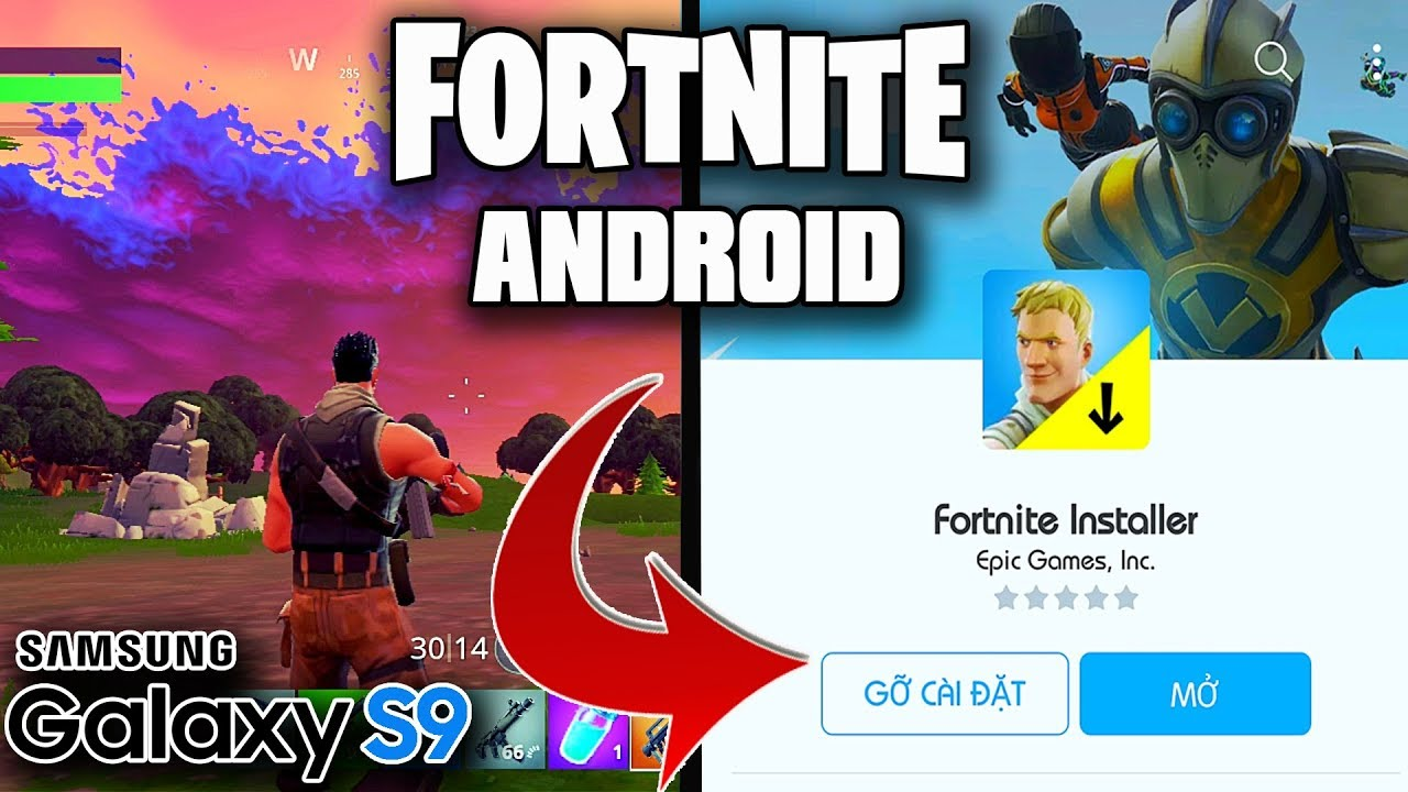 fortnite android download size