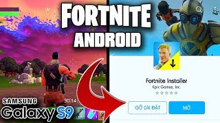 Fortnite Android Beta Galaxy S9 Gaming Test (Download on Galaxy Apps)