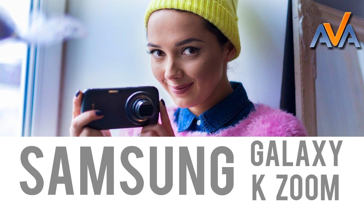 Обзор смартфона Samsung Galaxy K Zoom от