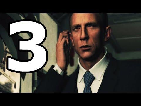 James Bond 007 Blood Stone Walkthrough Part 3 - No Commentary Playthrough (PS3)