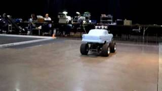 Home Made Giant Scale Rc Car #21,1955 Chevy Indoor Testing, With Tekin Rx8.