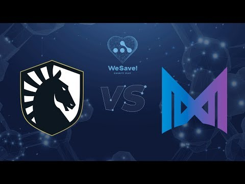Liquid Vs Nigma - Map1 | Eu-VODs | WeSave! Charity Play