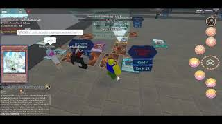 Yu-Gi-Oh in roblox? (No Commentary)