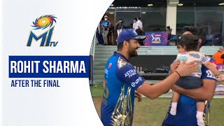 Rohit Cam after the Dream11 IPL 2020 Final | रोहित शर्मा, फाइनल के बाद