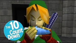 Repeat youtube video Top 10 Greatest Legend Of Zelda Songs